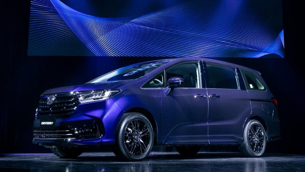 Honda Taiwan於2021年3/2以線上直播的方式,在台發表小改款Odyssey。(圖片來源/ Honda) 小改款Odyssey上市 三車型標配Honda Sensing售價162.9萬起