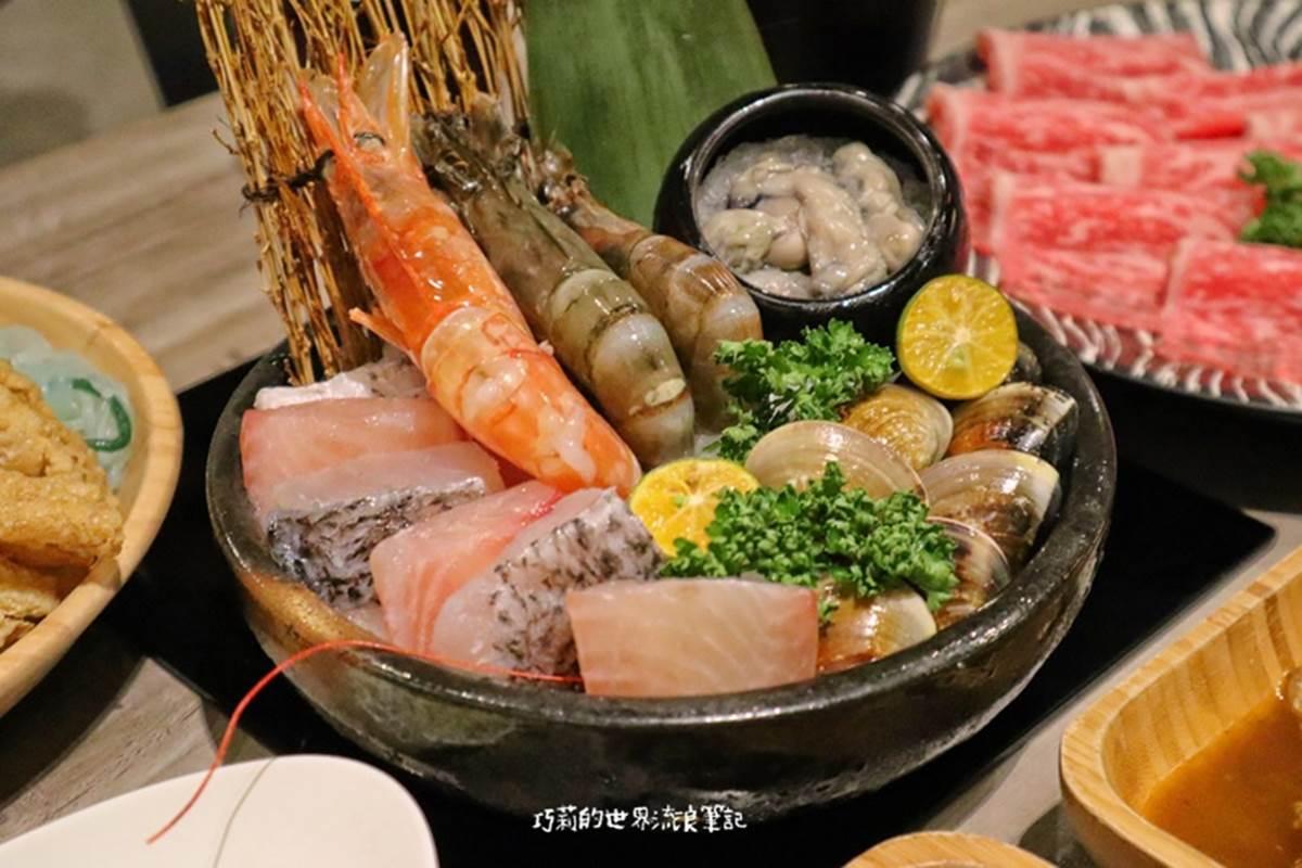 單身也能嗑!台中3家吃到飽個人鍋:迴轉餐檯、超澎派自助吧、超過20樣小農蔬食