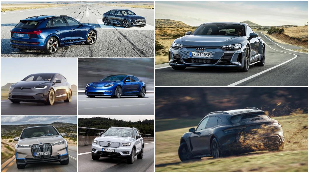 今年電動車市場將有多款新車來臺,相當熱鬧。(圖片來源/ 各原廠) Taycan旅行車有望9月來臺 2021臺灣期待電動車一把抓