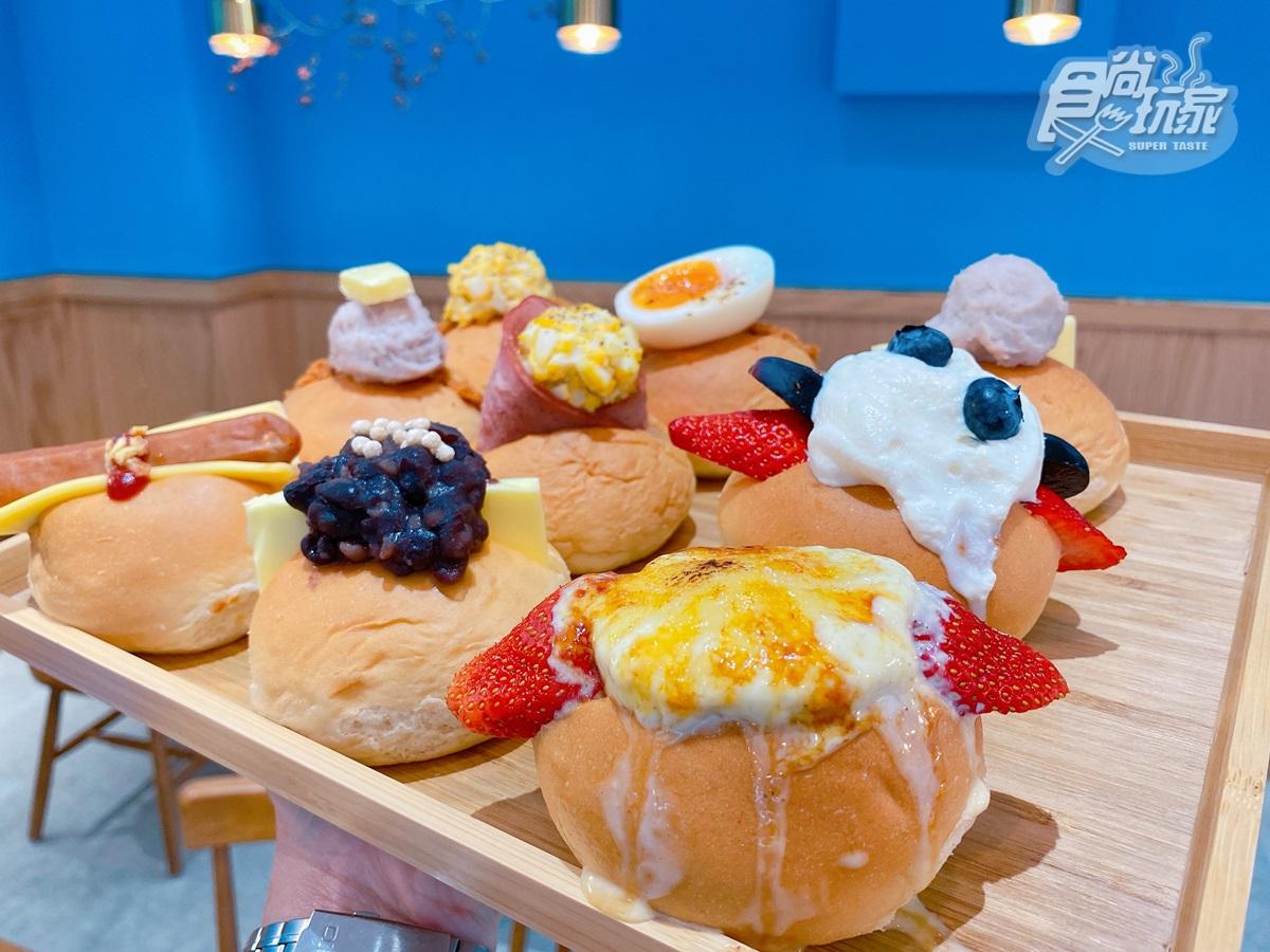 【新開店】一秒飛日本!全台獨創「可頌鬆餅」超欠拍,網美小餐包、整個台灣芭菲杯必嗑