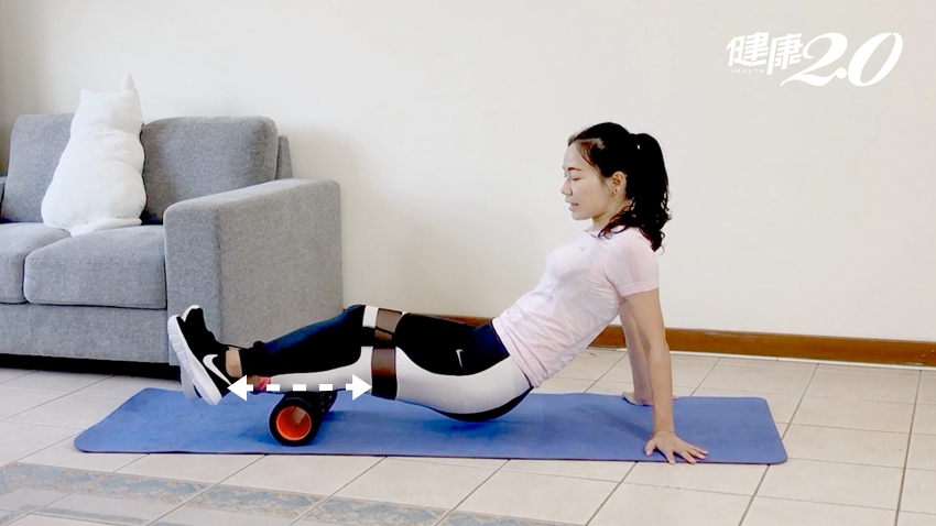 7招放鬆緊繃下半身 你只需要一顆滾筒!臀部、大腿、小腿、腳踝放輕鬆