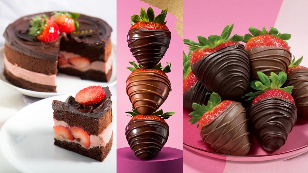 呼叫草莓控!GODIVA「手製草莓巧克力」限時回歸,BAC黑嘉侖草莓巧克力蛋糕買就送草莓啤酒