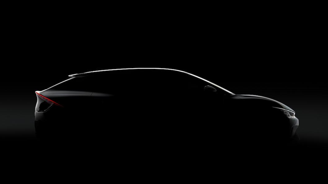 Kia官方釋出品牌新世代電動概念車EV6預覽圖,預計將以SUV車型面世。(圖片來源/ Kia) Kia挑戰Tesla先鋒 EV6鎖定電動跨界跑旅市場
