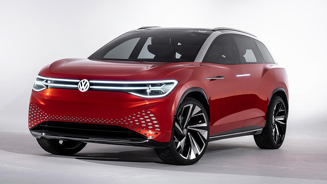 Volkswagen首款純電動7人座SUV有望於今年4月現身。(圖片來源/ Volkswagen) VW電動7人座休旅即將現身 ID.6有望4月發表