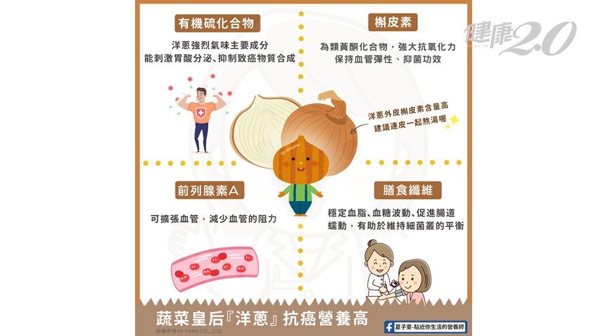 洋蔥正好吃!哪種顏色洋蔥最營養?1招吃法護心效果最佳 4招挑選新鮮洋蔥