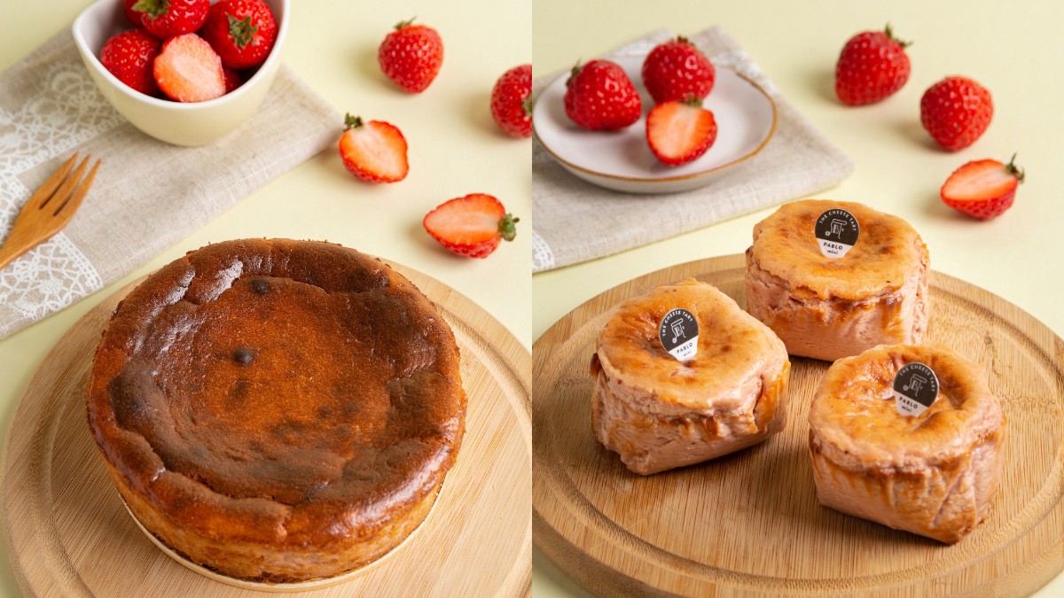 起司控全包!PABLO「草莓巴斯克蛋糕」限量開賣,藍莓起司塔、焦糖蘋果迷你塔必吃