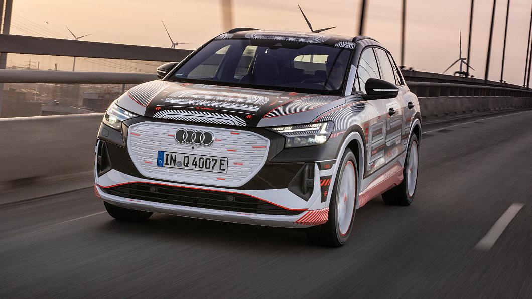 Audi釋出Q4 e-tron相關細節。(圖片來源/ Audi) Q4 e-tron確定今年發表 不只科技更有寬敞機能
