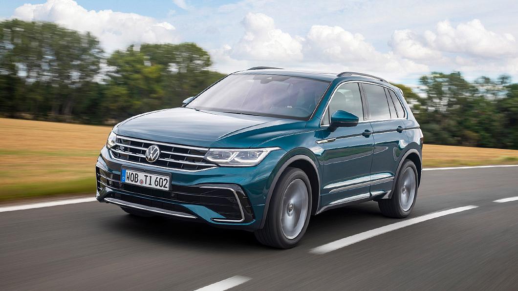 小改款Tiguan開價109.8萬元起上市開賣。(圖片來源/ Volkswagen) 109.8萬起小改Tiguan上市 Tiguan R 205.8萬同步啟動預售