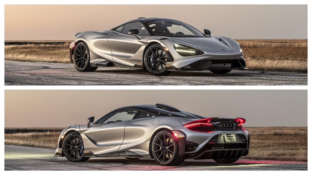 美國著名改裝廠Hennessey Performance (HPE) 這次找來了McLaren 765LT進行改裝。(圖片來源/ Hennessey Performanc) HPE動刀升級765 LT 長尾競技版馬力直破千匹