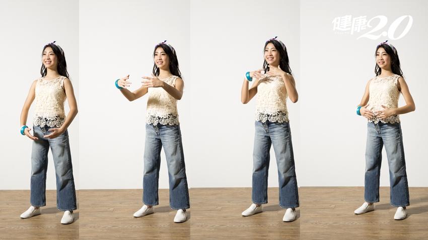 白雁老師公開抗衰老祕訣!飯後做「洗胸顫掌」加速排毒 甩脂肪、防便祕