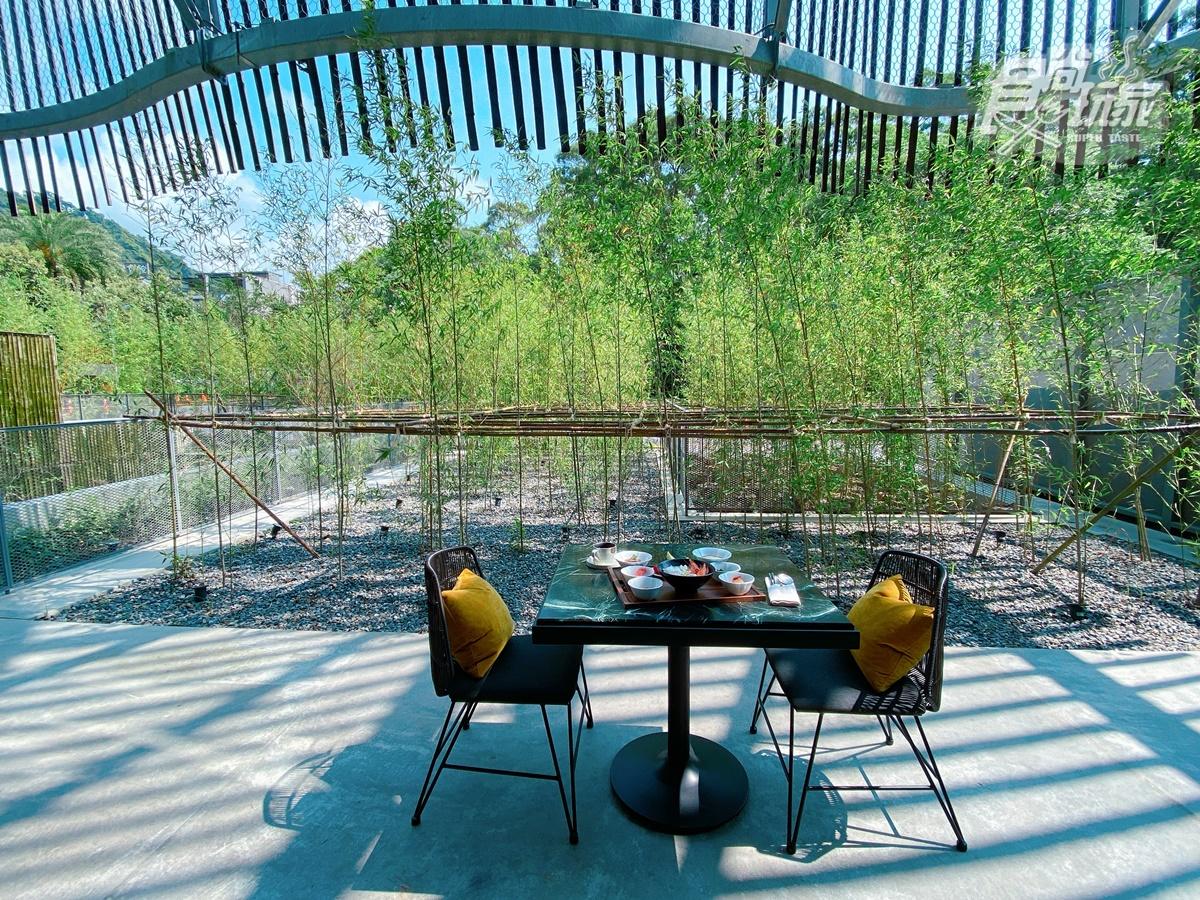一秒飛日本!最新打卡旅宿「了了礁溪」,7大房型有樹洞、巨蛋,還能在「洞穴」吃早餐