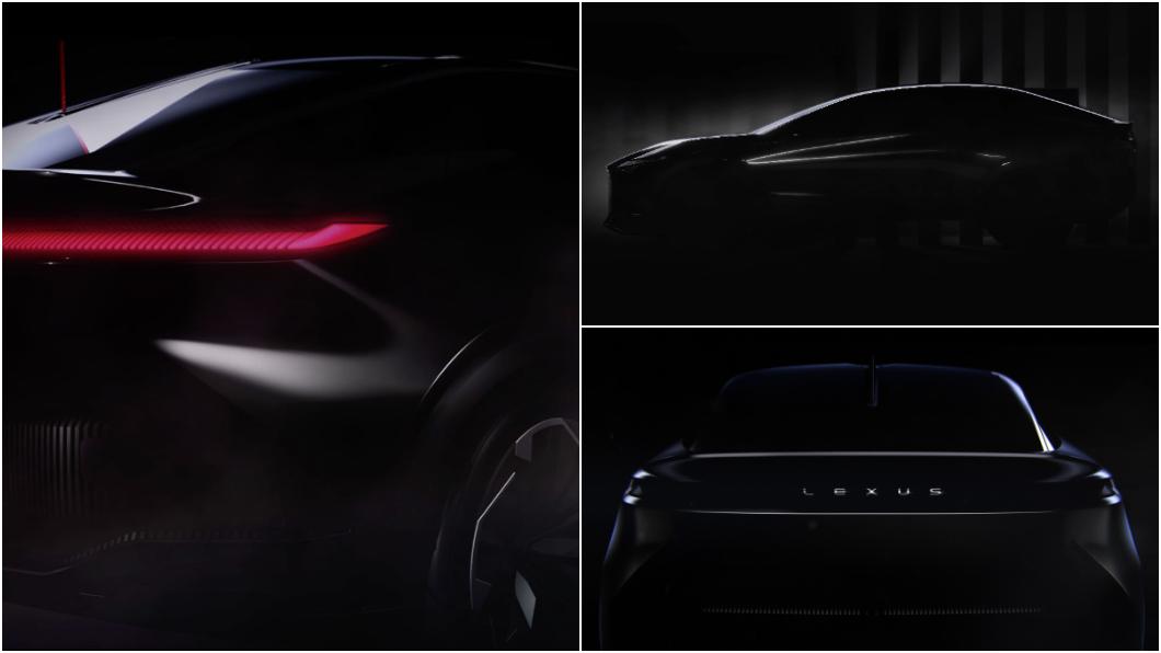 Lexus預告新款純電動概念車將於3月30日發表。(圖片來源/ Lexus) 不是新世代NX Lexus月底將推全新概念車
