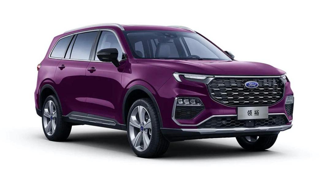 Ford在中國的合資公司江鈴福特,日前發佈了全新中大型休旅車產品Equator的最新資訊。(圖片來源/ Ford) 內裝像賓士!後排超舒適 Ford Equator亮相