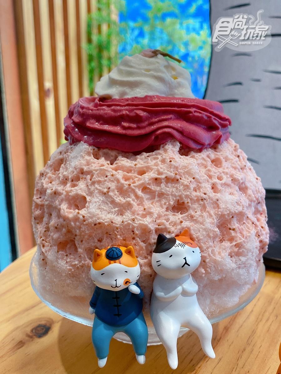 貓奴尖叫!全台唯一「貓小姐櫻花限定店」這裡拍,超獨家可頌鬆餅、粉紅色冰山必吃打卡