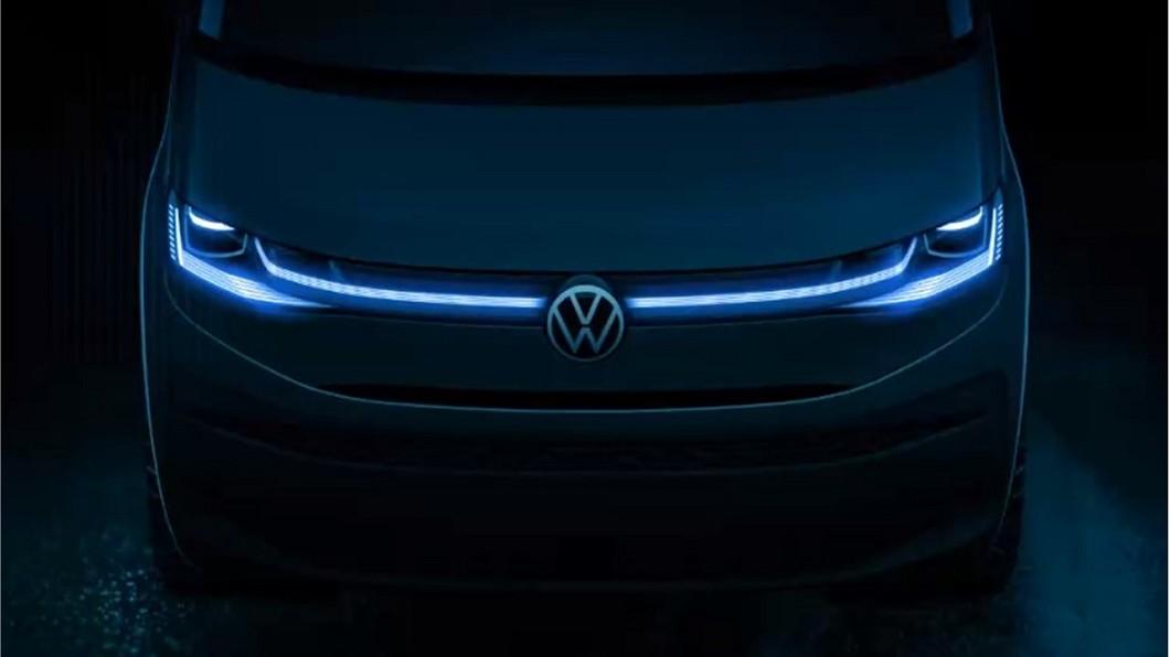 福斯商旅預告T7 Multivan將於未來幾週之後發表現身。(圖片來源/ VWCV) 福斯商旅T7廂型車預告上半年曝光 T6.1將持續生產銷售