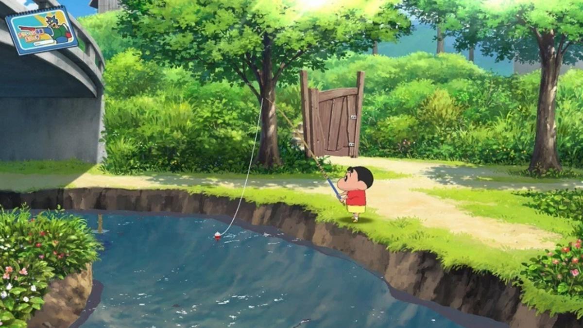 小新陪你放暑假!Switch新推超療癒《蠟筆小新 我與博士的暑假》,釣魚、跳格子重溫童年回憶