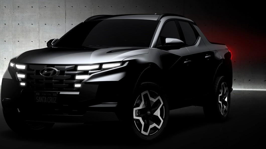 Hyundai首款皮卡Santa Cruz將在4/15正式發表。(圖片來源/ Hyundai) 現代首款「皮卡車」將是北美銷售靈藥? Santa Cruz預約4/15亮相