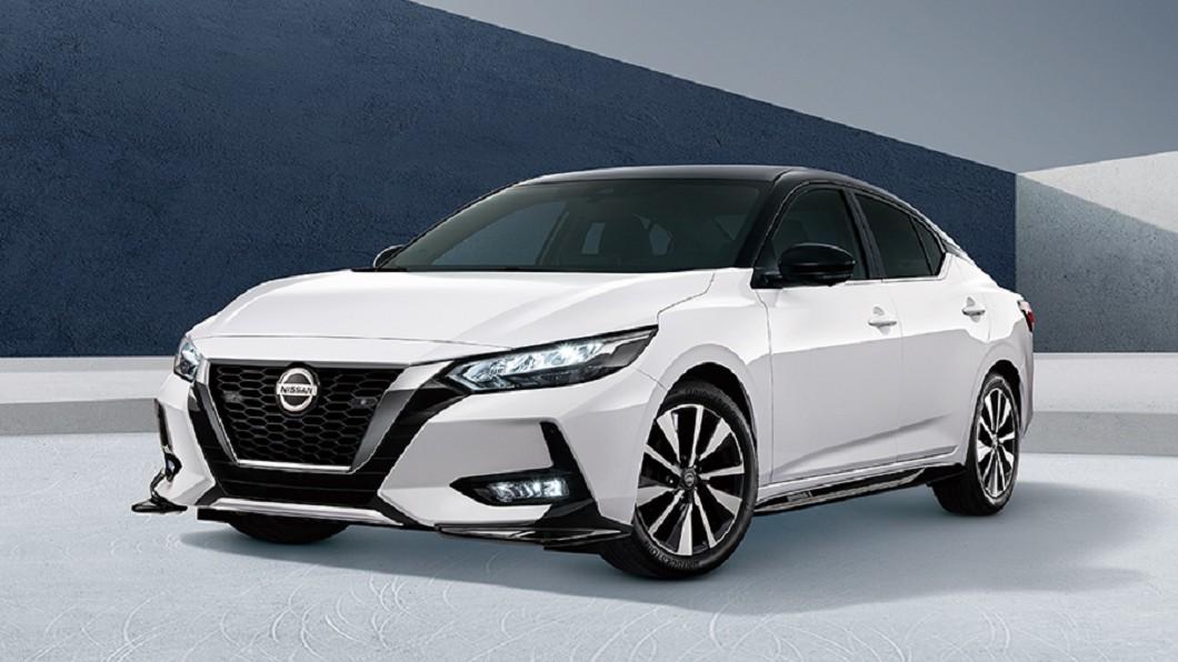 裕隆日產推出Sentra悅目版升級套件。(圖片來源/ Nissan) Sentra加價1萬享空力與音響升級 悅目版限量發售