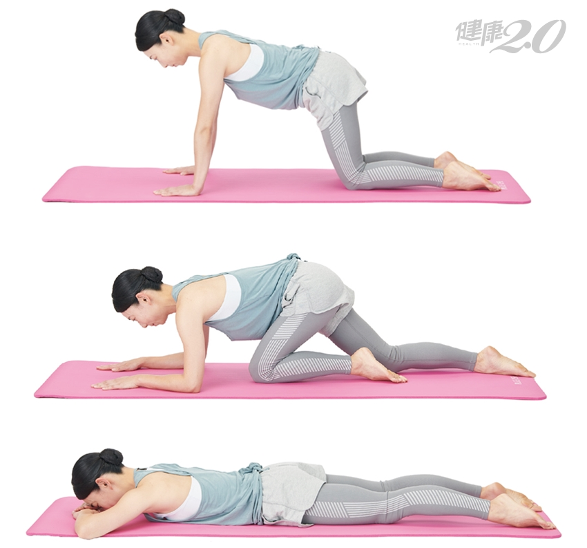 最簡單的復健動作!趴著練1招矯正脊椎 腰痛、失眠、肩頸僵硬、手腳冰冷都改善了