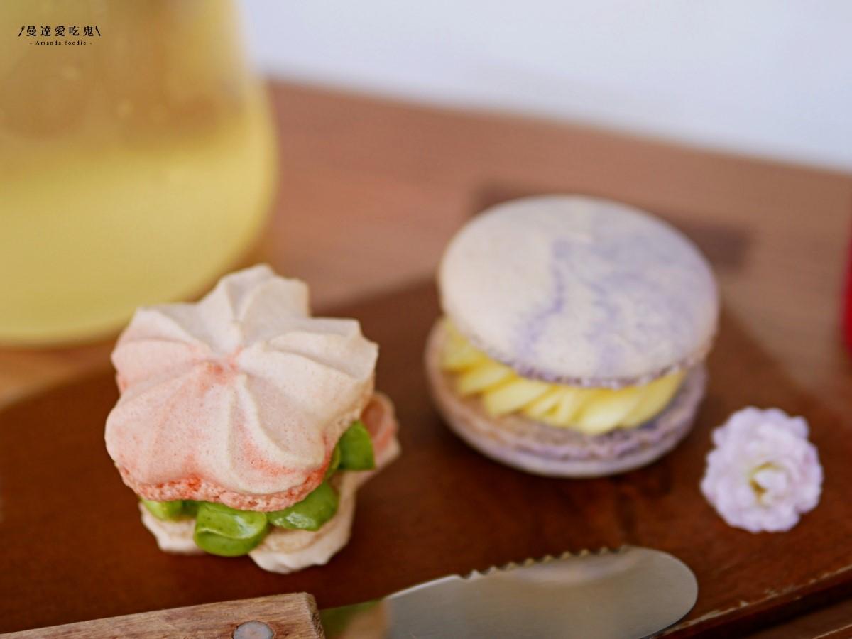 韓國IG暴紅「胖卡龍」台南吃得到!粉色花瓣造型超美拍,邪惡巧克力餡也必點