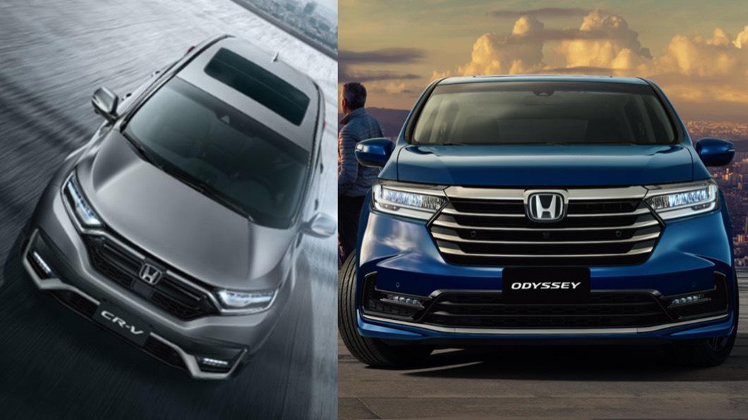 Honda Odyssey、CR-V分別拿下該級距3月銷售龍頭。(圖片來源/ Honda) Odyssey、CR-V分佔3月級距龍頭 全車系試乘抽iPhone 12 Pro