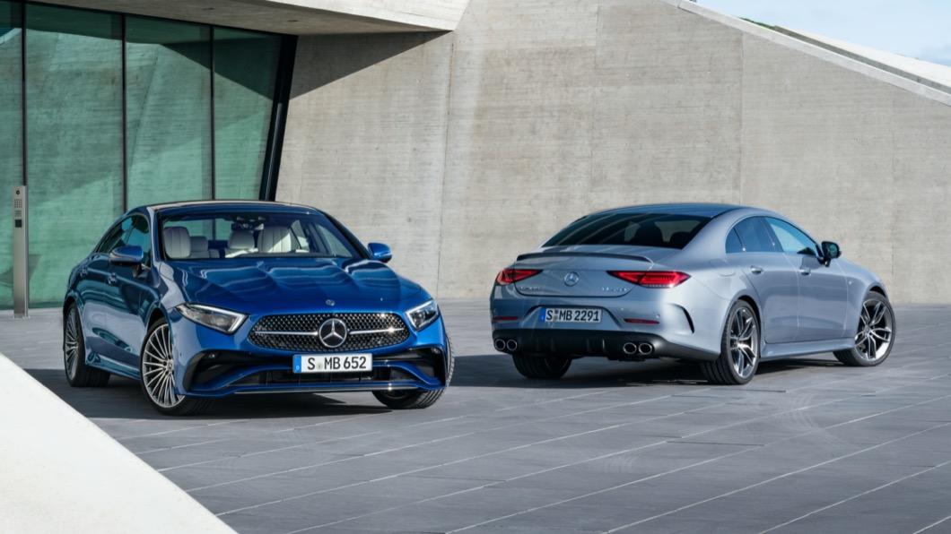 M-Benz於4/6發表全新小改款CLS,這次主要針對外觀細節進行修改。(圖片來源/ M-Benz) M-Benz CLS小改款曝光 換新車頭造型、方向盤功能升級