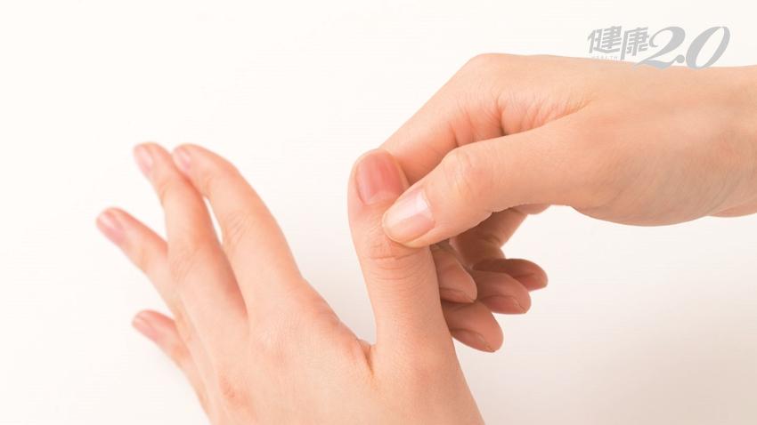 按摩手掌舒緩過敏!刺激8大「手部反射區」 趕走打噴嚏、流鼻水、皮膚癢