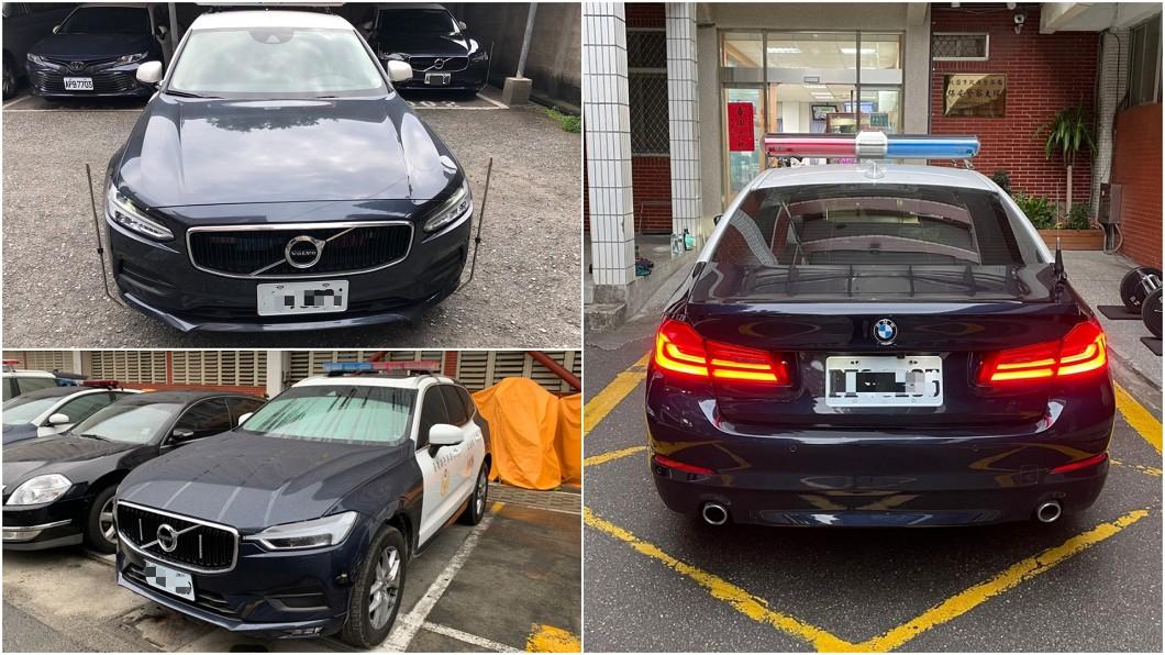 不只是國產平價車,全台各地方政府警察局還藏有一些豪華品牌警車。(圖片來源/ 警政署) 警車都是平價國產車? 全臺警局還有這些豪華車