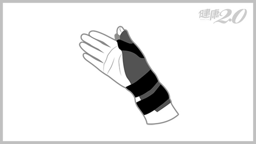 護腕戴錯更嚴重!手刺痛不是「纏」起來就好,醫師教你怎麼選