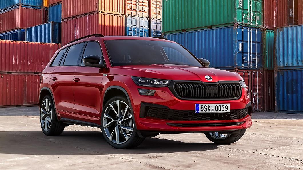 Kodiaq小改款正式發表現身。(圖片來源/ Škoda) 小改Kodiaq微整形升級 臺灣導入有待明年