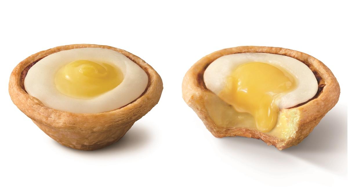 這顆「荷包蛋」我可以!肯德基最新「日光檸檬蛋撻」,可愛到讓人捨不得咬
