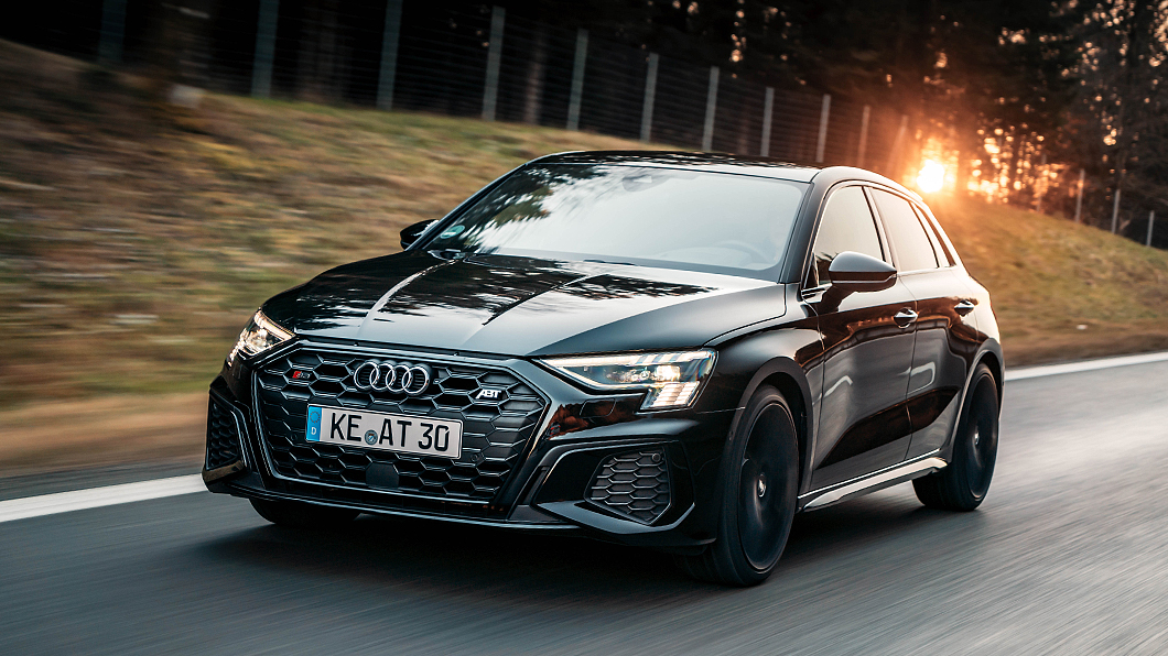 Abt Sportback推出S3 Sportback專屬動力與排氣升級套件。(圖片來源/ Abt Sportsline) 臺灣剛上市的Audi S3能怎麼改? ABT讓它更強更張狂
