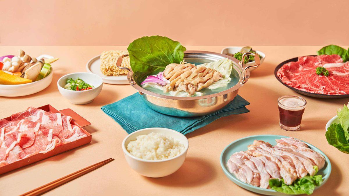 仙女吃的火鍋?人氣鍋物推「藍眼淚雞湯」套餐,加購「霜降牛肉盤」再享5折優惠