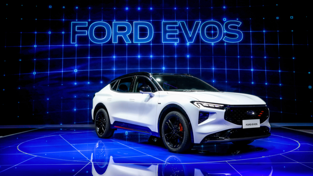 Ford於4/19選在上海車展首發全新高端大型SUV產品EVOS。(圖片來源/ Ford) 這是未來的Mondeo? Ford EVOS上海車展首發