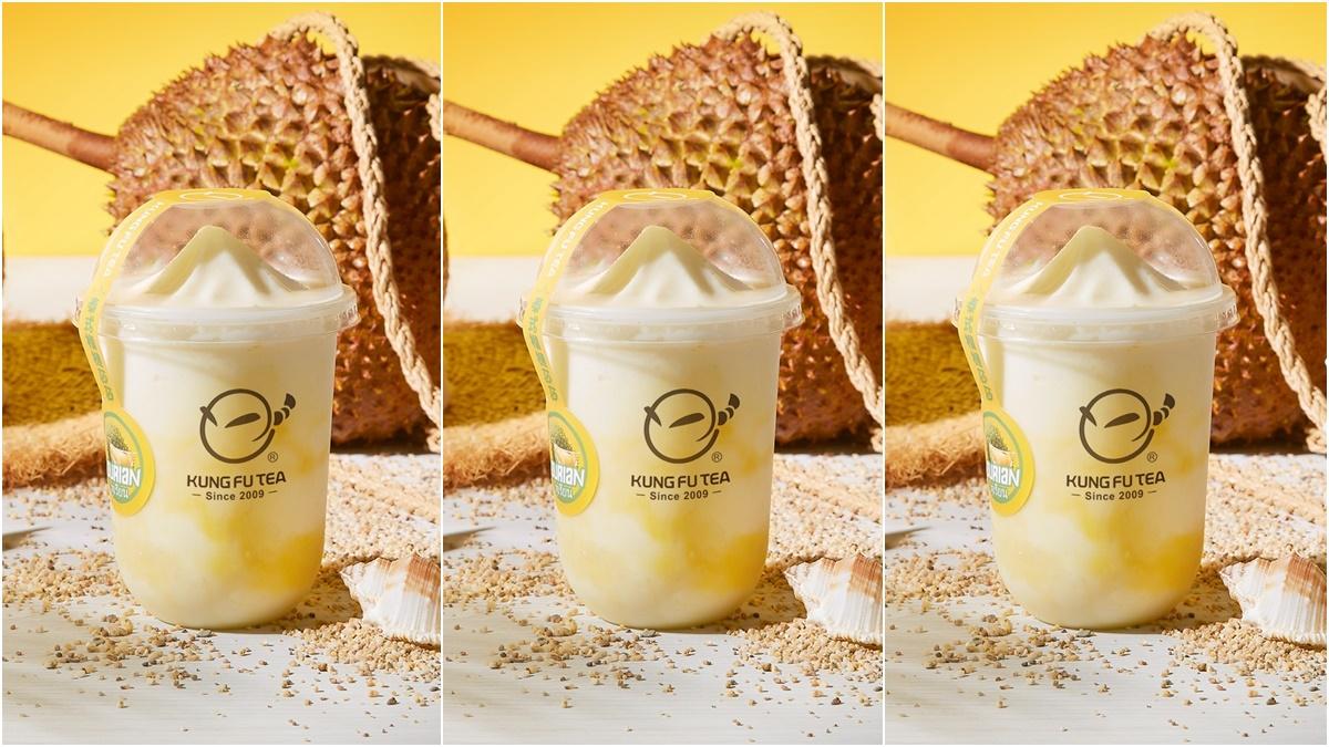 香香的榴槤回來了!人氣手搖功夫茶推「泰式榴槤莎莎」,泰式金枕頭x香草冰淇淋超對味
