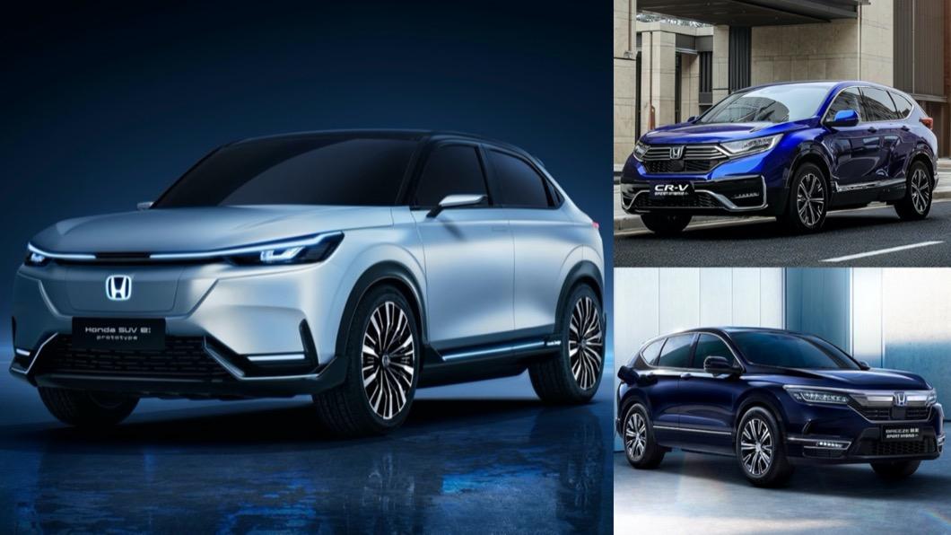 在這次上海車展中,Honda也在此首演即將在中國市場銷售的全新純電動原型車Honda SUV e:prototype。(圖片來源/ Honda) 這會是電動版HR-V? Honda SUV e:prototype上海車展首演