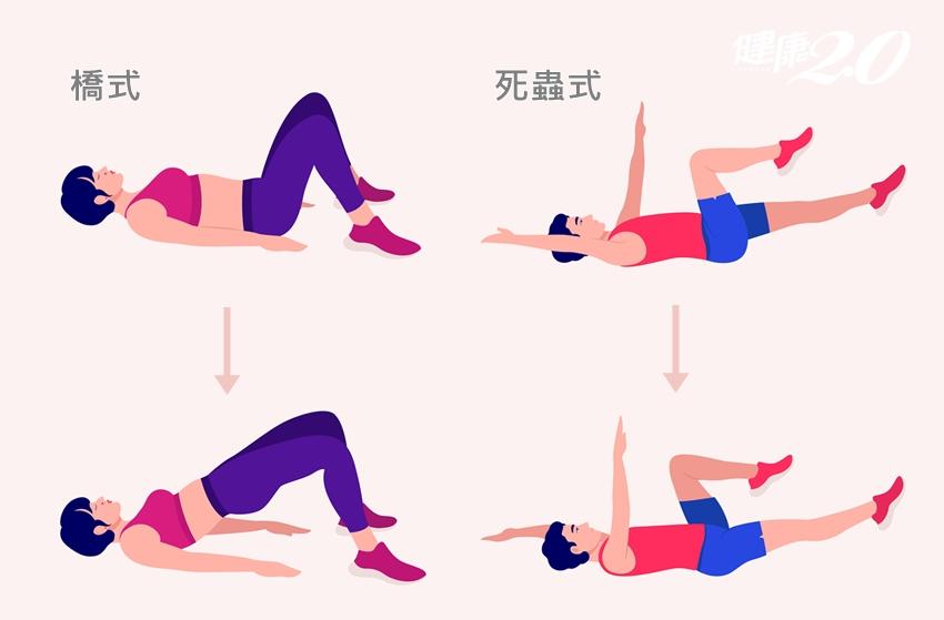 腰痛治不好?1招自我檢測「核心無力」 每天10分鐘鍛鍊核心肌群