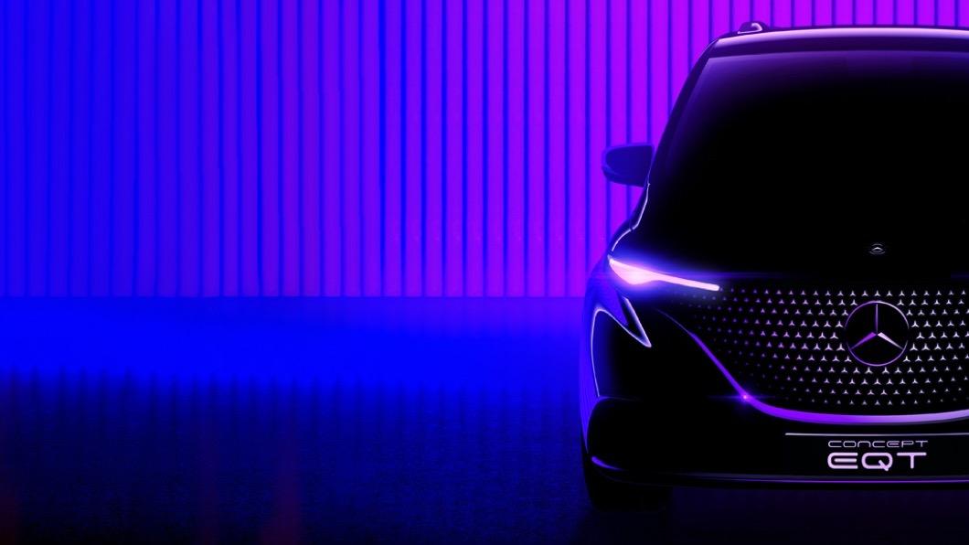 M-Benz日前在媒體平台專刊中發布全新概念車EQT,這款概念小型貨車預計在5/10正式亮相。(圖片來源/ M-Benz) 賓士要推電動MPV! EQT預約5/10全球首演