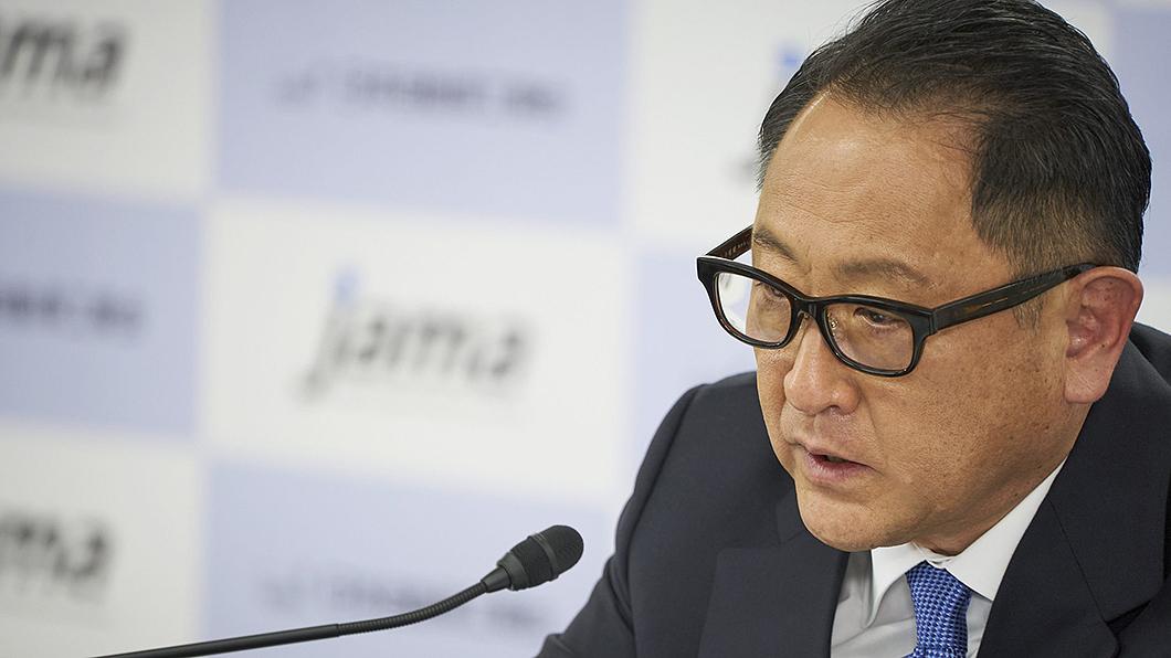 日本自動車工業會會長豐田章男宣告2021東京車展停辦。(圖片來源/ 日本自動車工業會) 東京車展宣告取消 130萬人次商機不敵疫情
