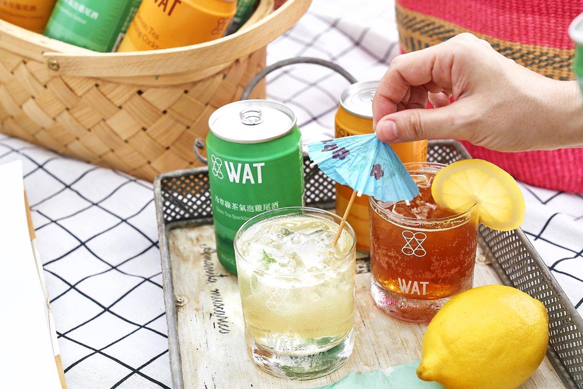 潮流調酒WAT聯手「檀島香港茶餐廳」!新「凍檸茶氣泡雞尾酒」超商獨家賣,加碼任3件85折
