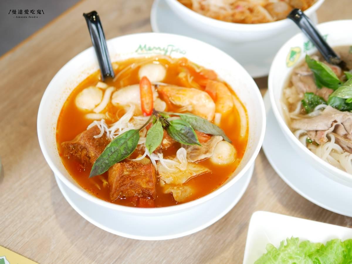 秒飛東南亞!美式越南餐館招牌河粉牛肉「粉紅透嫩」,生春捲沾醬微辣也超欠吃