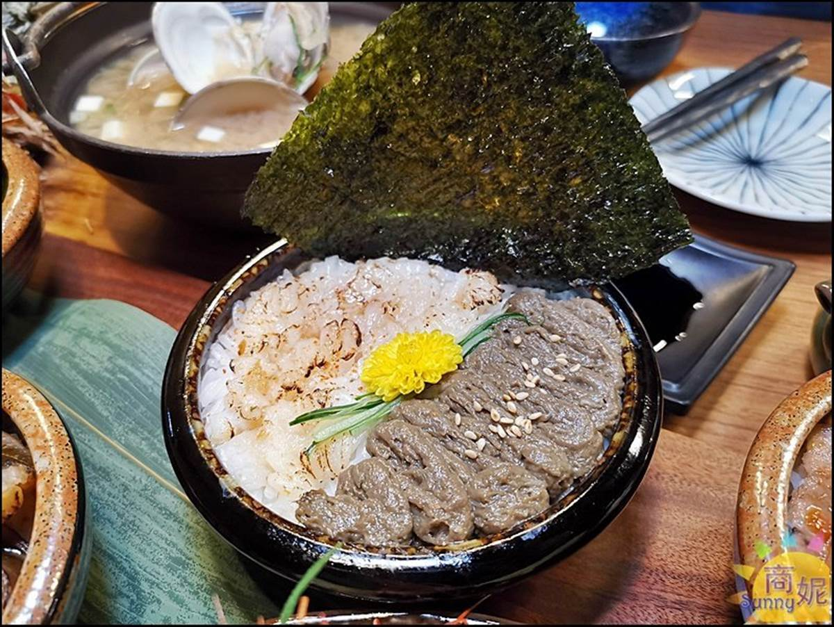 CP值爆表!台中超狂「5小丼」一次嘗炙燒星鰻、比目魚,澎派分量1碗只要150元