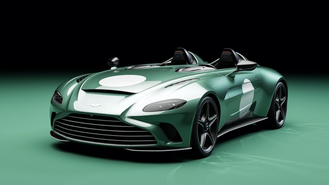 日前Aston Martin發佈了全球限量88部的特別版車型。(圖片來源/ Aston Martin) V12 Speedster DBR1全球僅88輛 向傳奇利曼賽車致敬