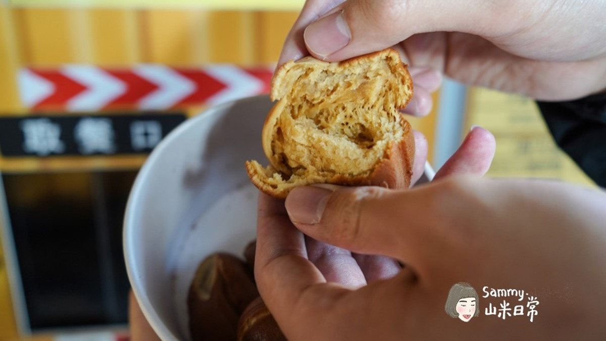 24小時不打烊!超有哏「無人」雞蛋糕現點現烤,外皮酥脆還吃得到麵粉香