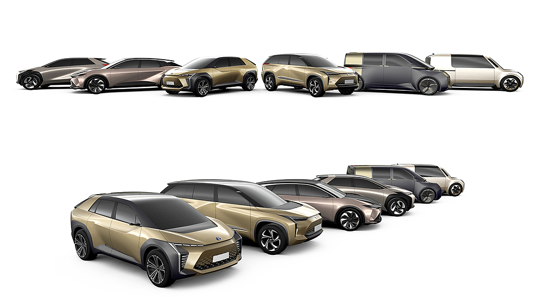 Toyota與Lexus將推出最多可採8人座配置的三排座椅電動SUV。(圖片來源/ Toyota) Toyota與Lexus將同推新電動休旅 三排座椅最多可坐8人
