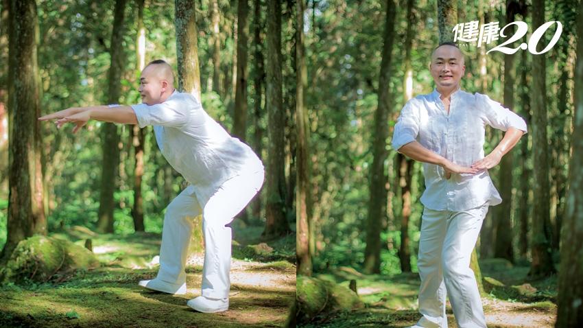 「舒腰功」擺脫痰濕體質!熟男天天練體重減4公斤、腰圍少7公分