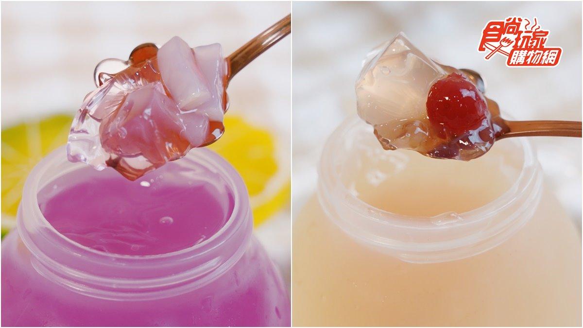 果凍、果汁、內餡一次滿足!超人氣「爆漿果凍」一戳就爆果汁,食尚獨家開賣綜合口味