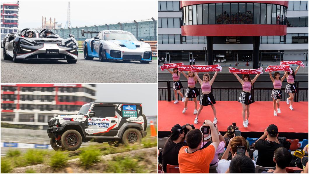 國內全新FIA Grade 2等級國際賽道麗寶國際賽車場正式啟用。 百億超跑與髮香區麗寶三天集客上萬 臺灣賽車商機再現?