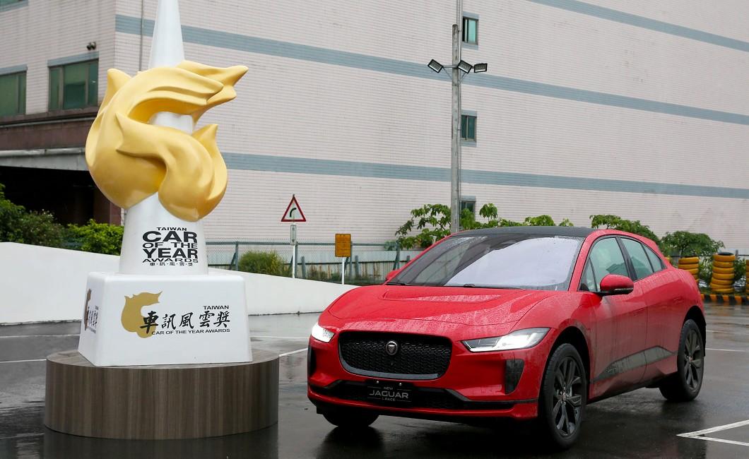Jaguar I-Pace榮獲車訊風雲獎「最佳進口豪華中型SUV」。(圖片來源/ Jaguar) 捷豹純電跑旅I-Pace 榮獲「最佳進口豪華中型SUV」