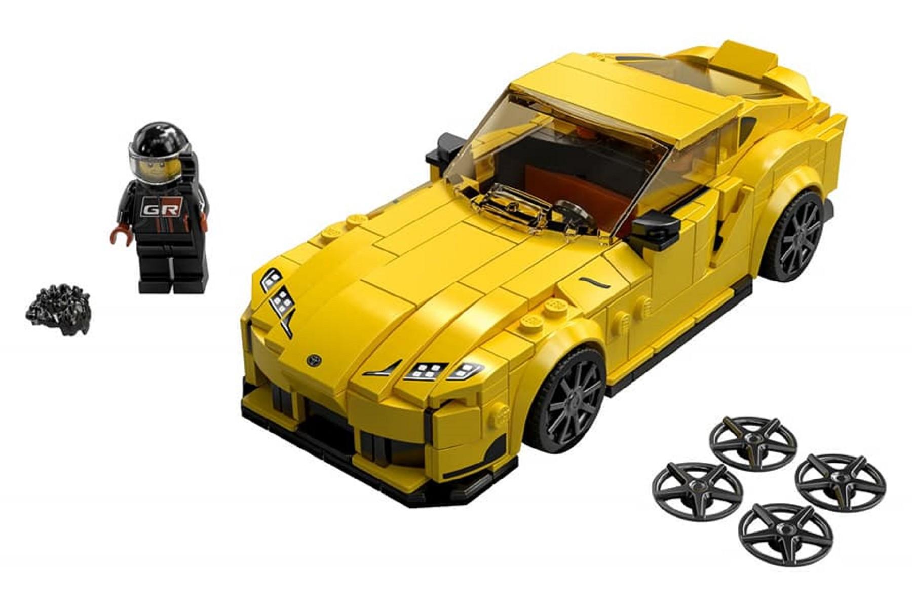 Lego推出「牛魔王」Toyota GR Supra。(圖片來源/ Lego) 這台牛魔王我買得起! Lego極速賽車新品出爐